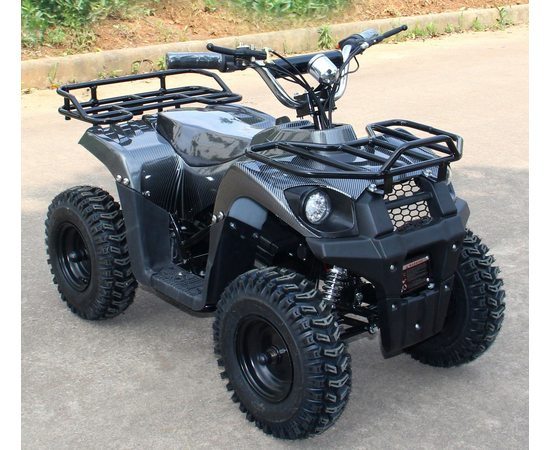 Детский квадроцикл электро J-Rider 800W (Литевая батарея, карбон)