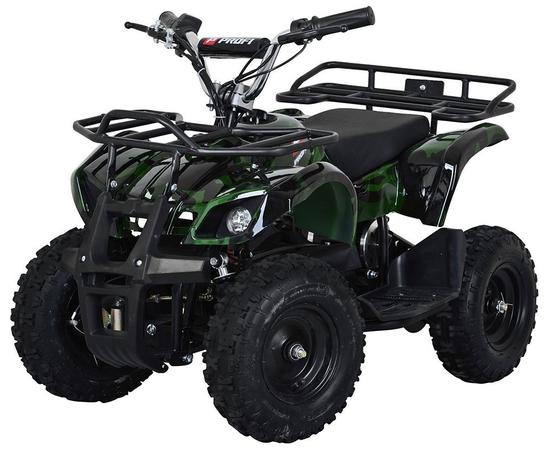 Детский квадроцикл PROFI HB-EATV800N-10 (Электро) Зеленый Камуфляж
