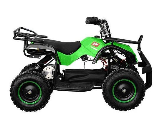Детский квадроцикл PROFI HB-EATV800N-5 (Электро, с MP3 плеером) Салатовый
