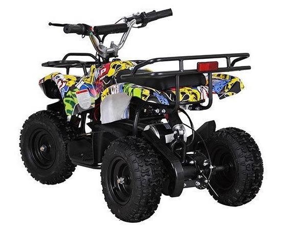 Детский квадроцикл HB-EATV800N-Графити (Электро, с MP3 плеером)